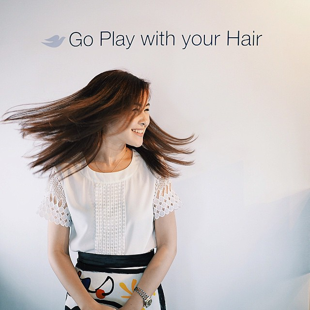 Fly with me? ? Don't you just love to play with your hair? I never worry about hair damage whenever I color, tease, tousle and twirl as long as I use #DoveIntenseRepair. #DoveGoPlay @doveph #haircare #hairtips #beauty