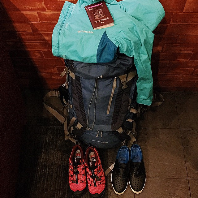 I've never been this challenged in packing for a trip ✈️ #lushangeltravels #travel @nativeshoes @columbiasportswearph @salomon #salomonph #wanderlust
