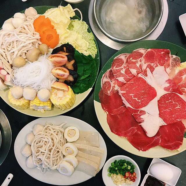 always happy when it's shabu-shabu night ?#healthy #shabushabu