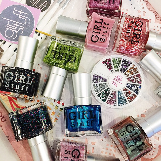 the new @girlstufforever #BloggersEliteSummer Collection is here! #Girlstuffph ? #beauty #nails #nailpolish #nailart