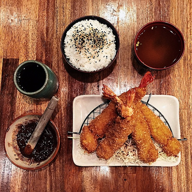 what's for dinner ? #japanesefood #foodstagram #tempura