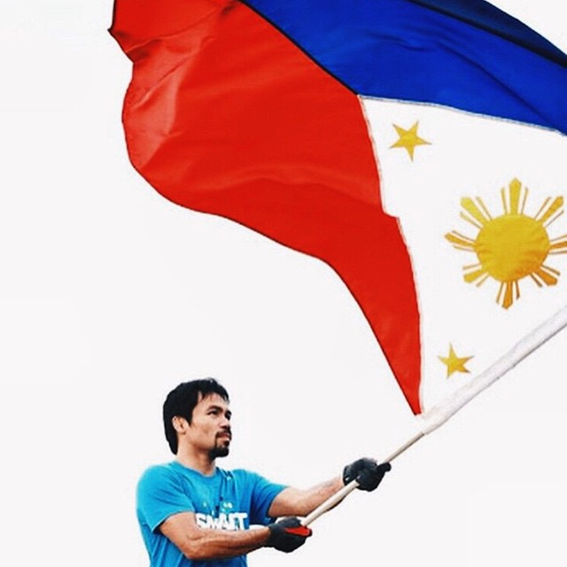You've always been our champion, #MannyPacquiao! Mayweather may have won the title, but you've earned our respect and our hearts. ❤️ Congratulations, MANNY!!! ? #SugodManny #respect #truechampion #crowdfavorite #fightofthecentury