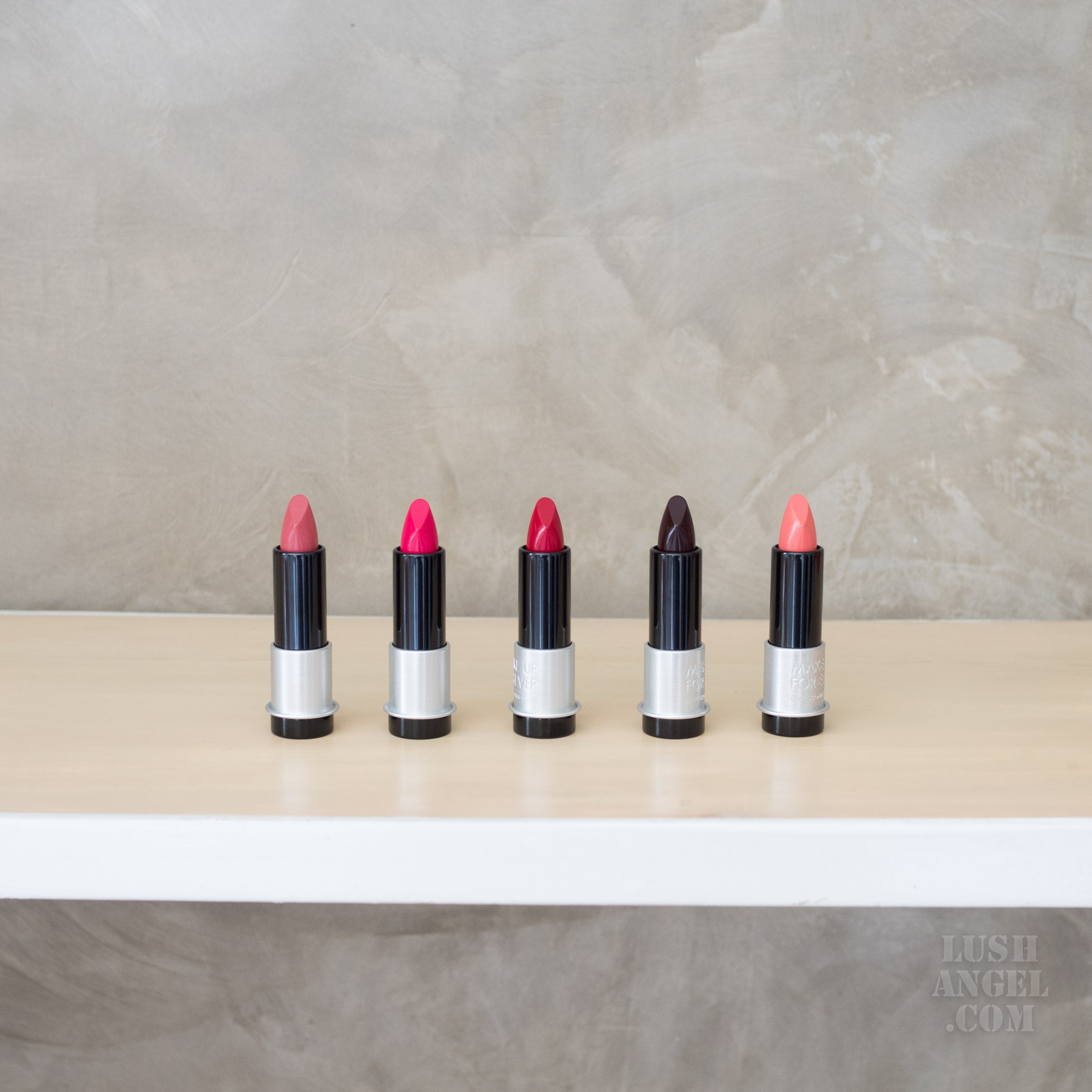 Make Up For Ever Artist Rouge Light Review Swatches