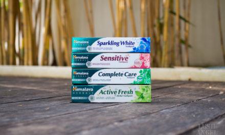 All-Natural Toothpastes from Himalaya Herbals
