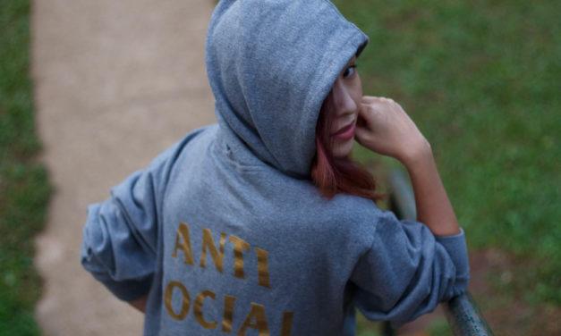 OOTD: Sometimes Anti Social (Social Club)