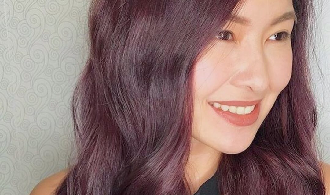 New Year, New Hair: Rose Gold and Purple Balayage