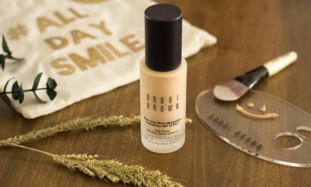 Review: Bobbi Brown Skin Long-Wear Weightless Foundation