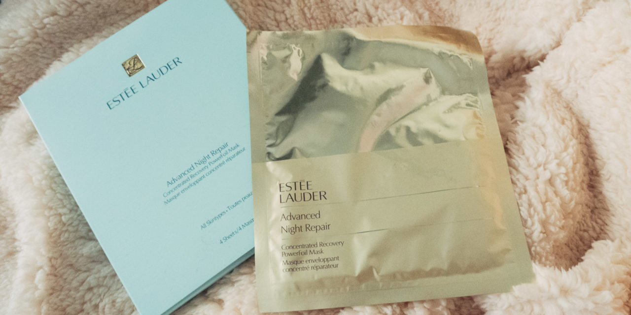 Estee Lauder Advanced Night Repair Concentrated Recovery PowerFoil Mask Review
