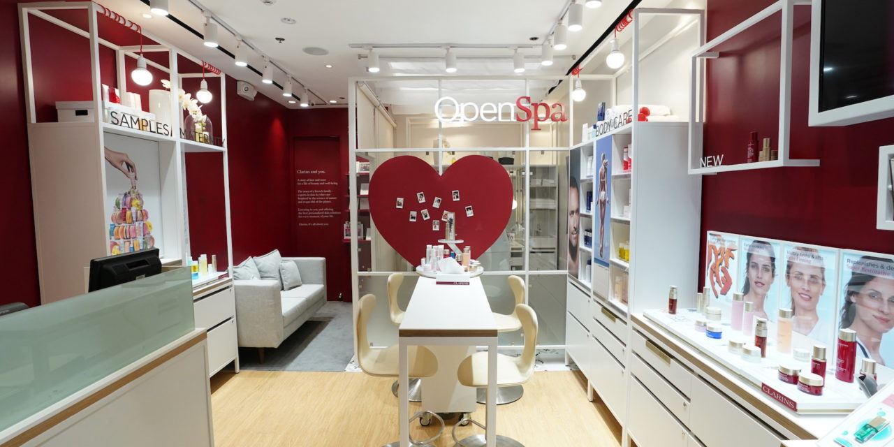 Clarins Boutique Opens In Power Plant Mall